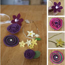 Electronic Floral Jewelery