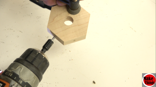 Screwing Teeth Into the Flute Plate