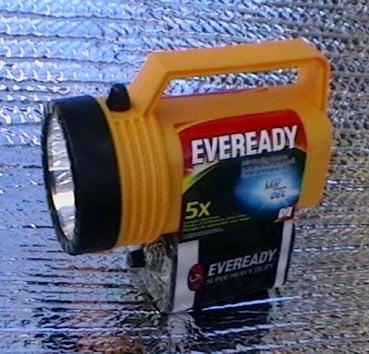 Easier Flashlight Mod Increases Run Time 3.6X