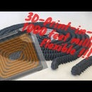 TRUE 1000 FEET FLEXIBLE MILLIPEDE 3D PRINT Using BLENDER STL REMIX