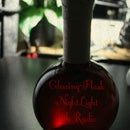 Glowing-Flask NightLight, [with Radio]