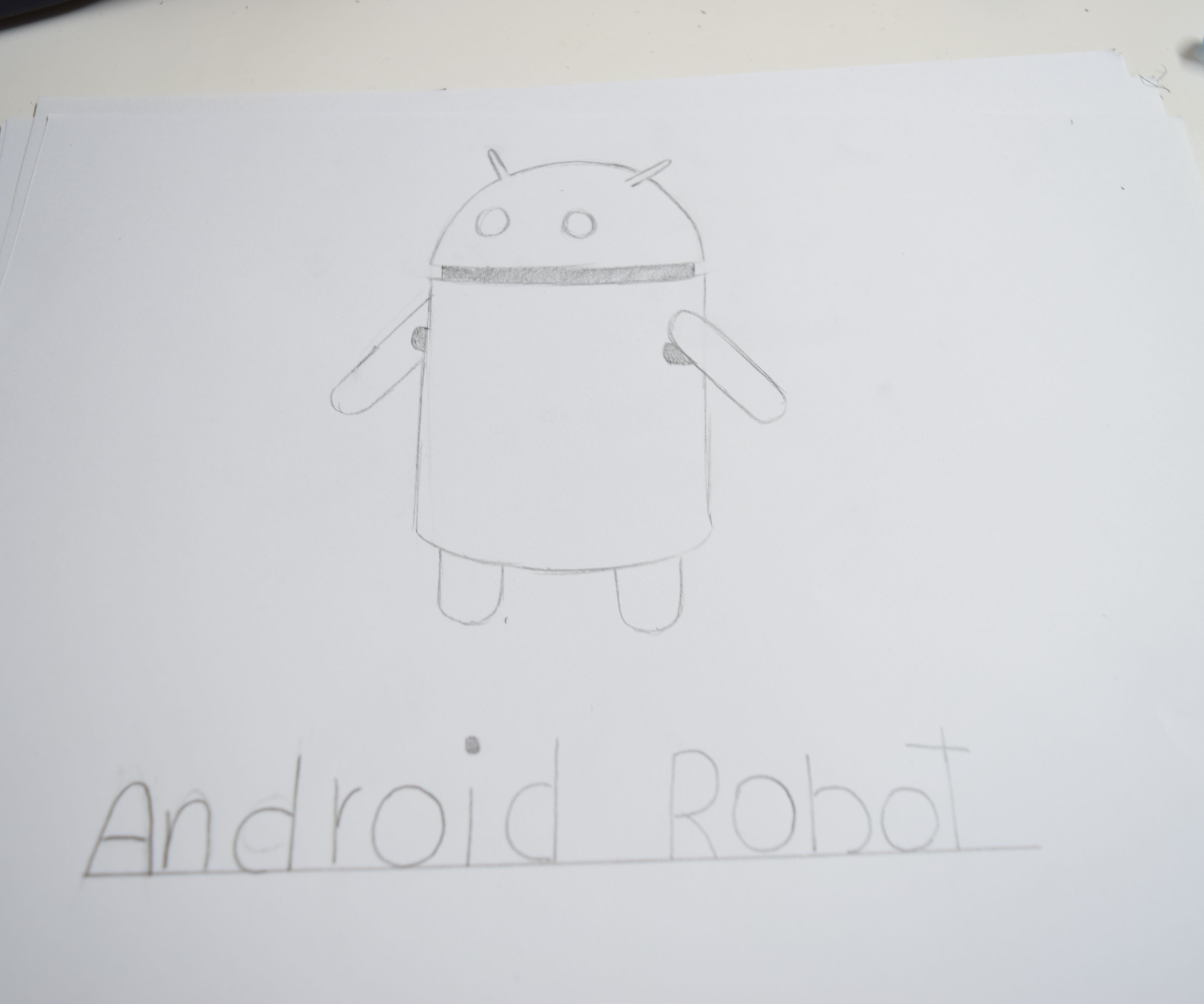 Como Dibujar Al Robot De Android