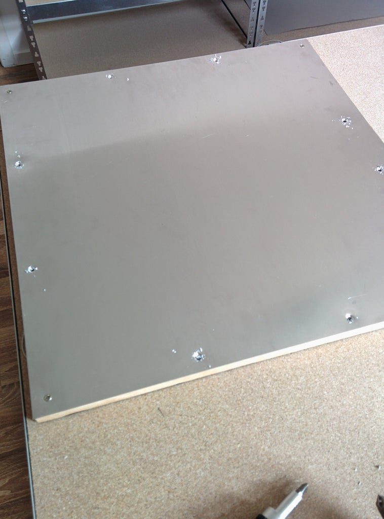 Aluminum Back Plate (heat Sink)