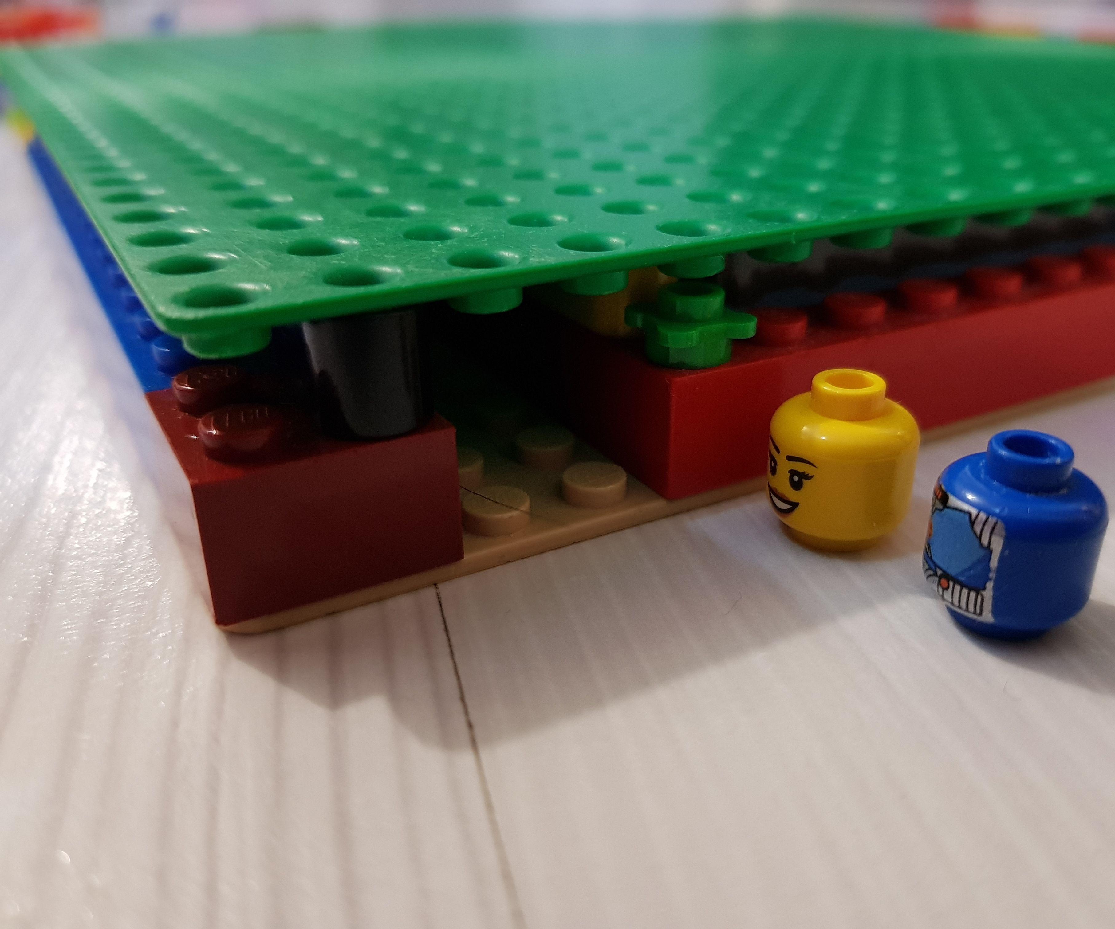 Lego Maze From Baseplates