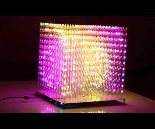 AuraCube 12x12x12 RGB LED Cube