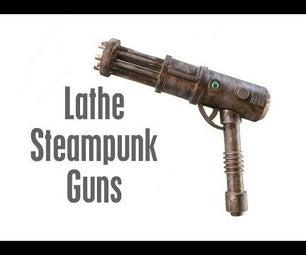 Cool Steampunk Guns