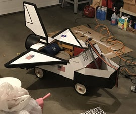 Out of This World Space Shuttle Wagon!