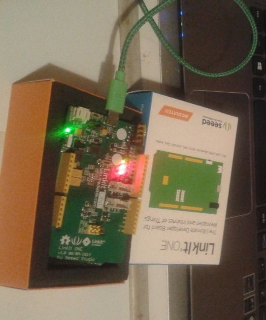 Linkit One UUID4 Generator