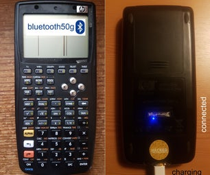 Bluetooth50g - ​an Upcycle Project for a Broken HP50G Calculator.