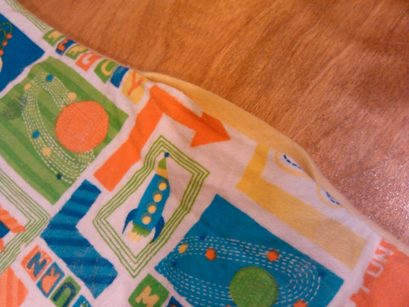 Sew Right Sides Together (leave Small Opening), Flip Inside Out, and Stitch Opening Close.