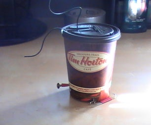 Walking Coffee Cup