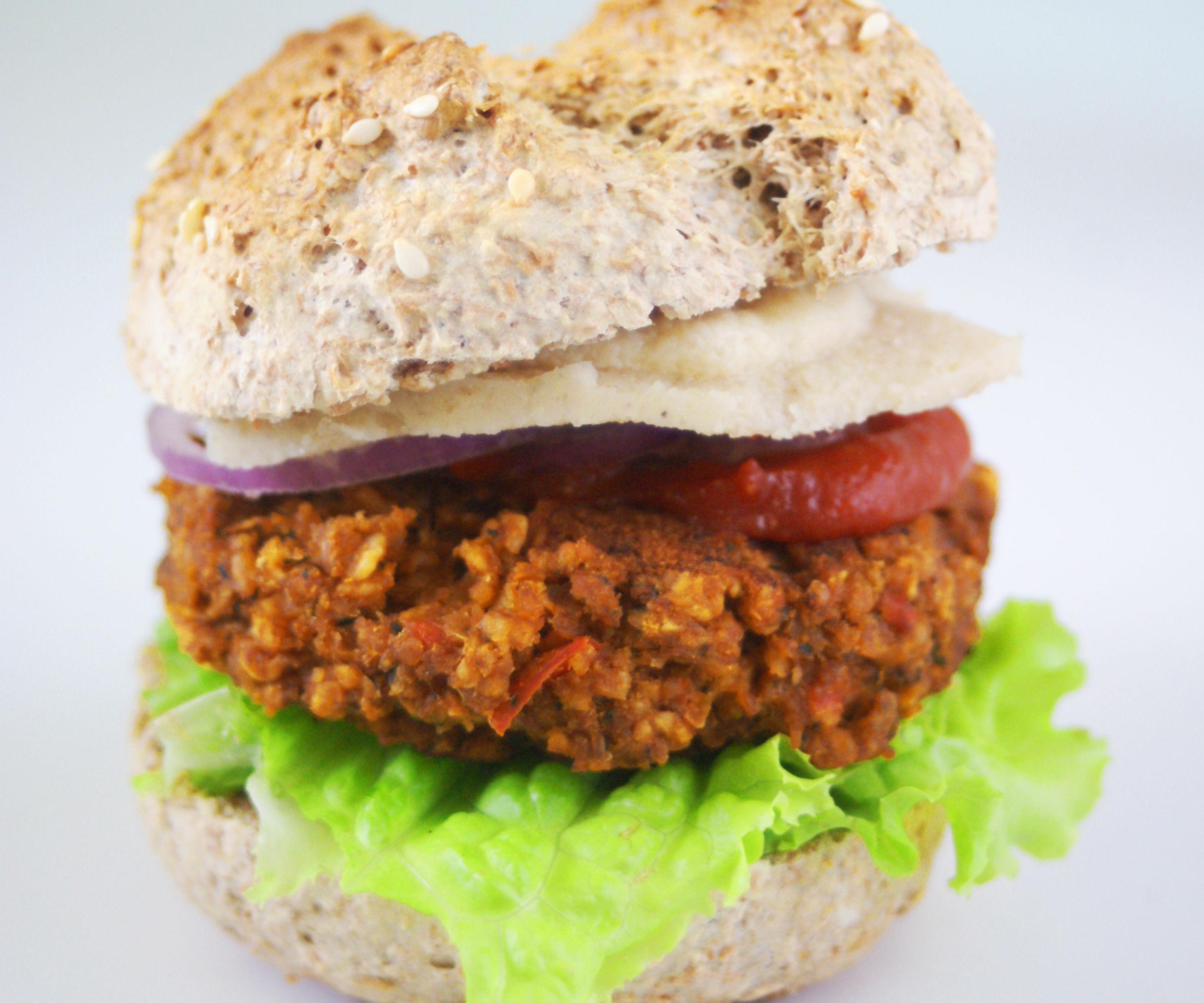 Anti-Cancer Veggie Burgers