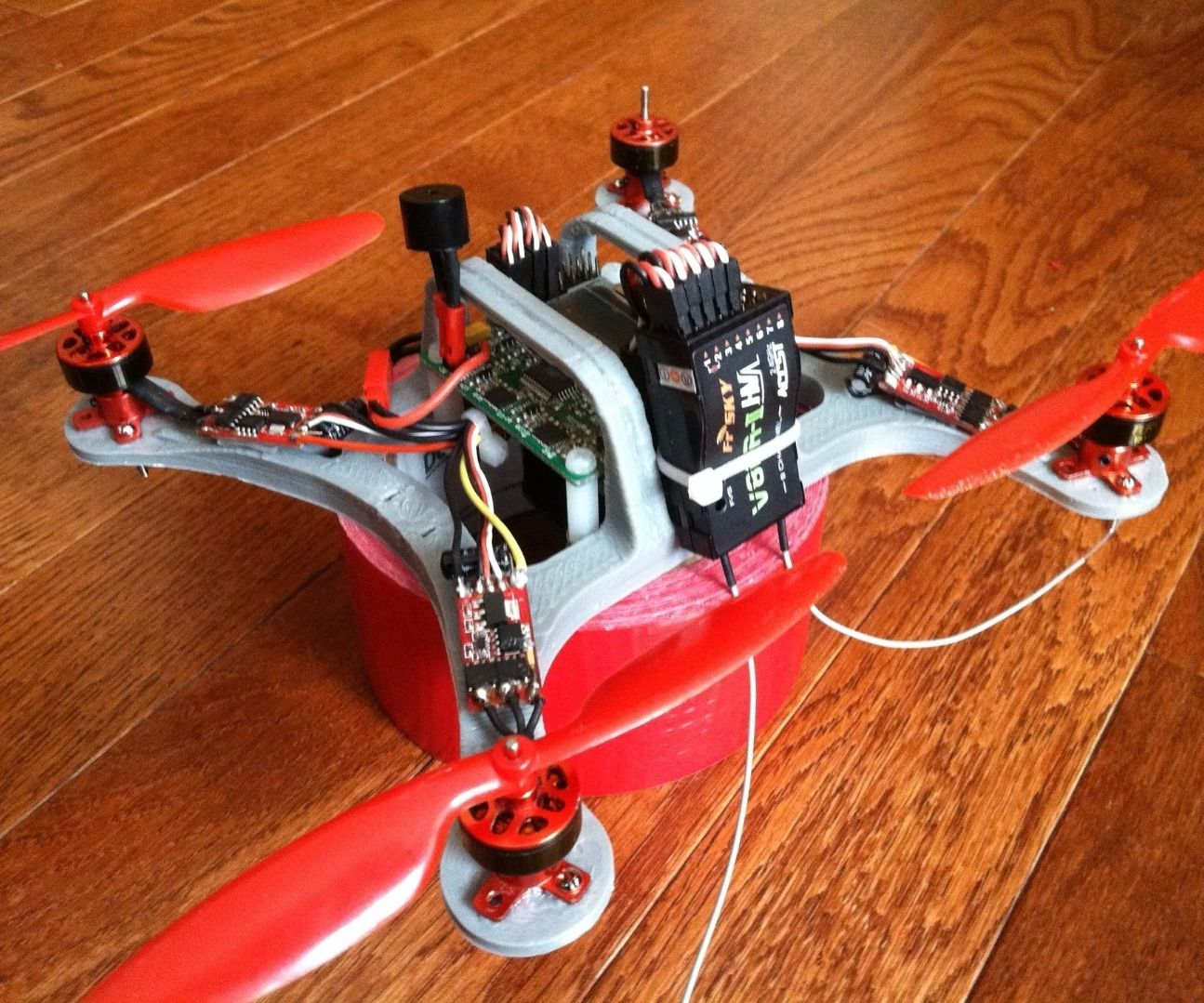 How I built this 200mm Mini H Quad Copter