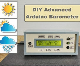 DIY Advanced Arduino Barometer