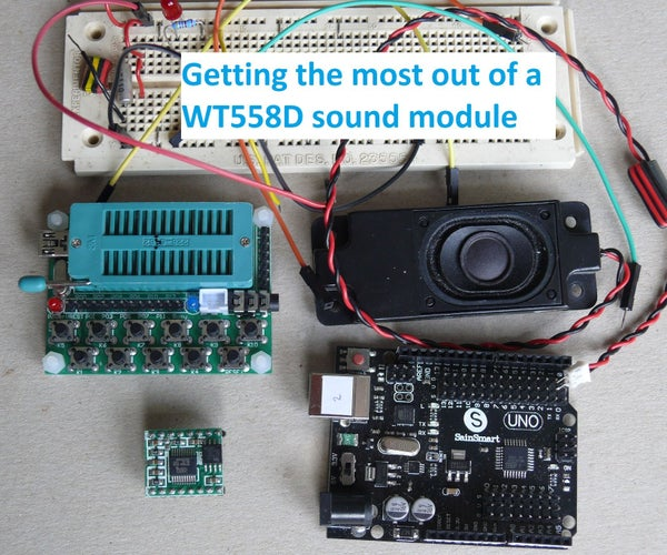 Getting the Most Out of a WT588D Sound Module
