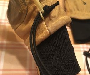 Kinco冬季手套皮带