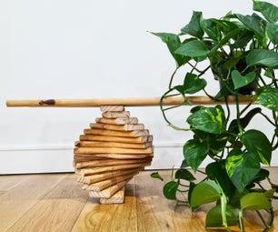 螺旋装饰凳
