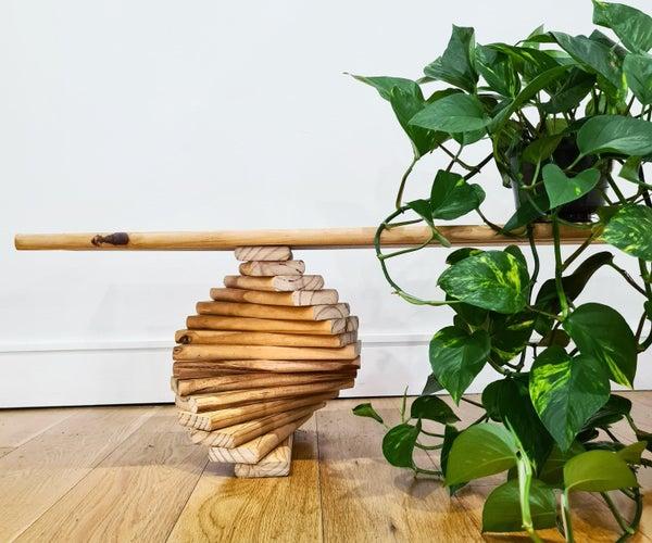 Spiral Decorative Bench