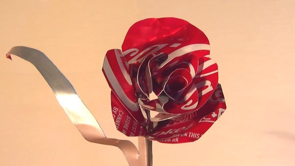 How to Make a Coca-Cola Can Valentine's Rose