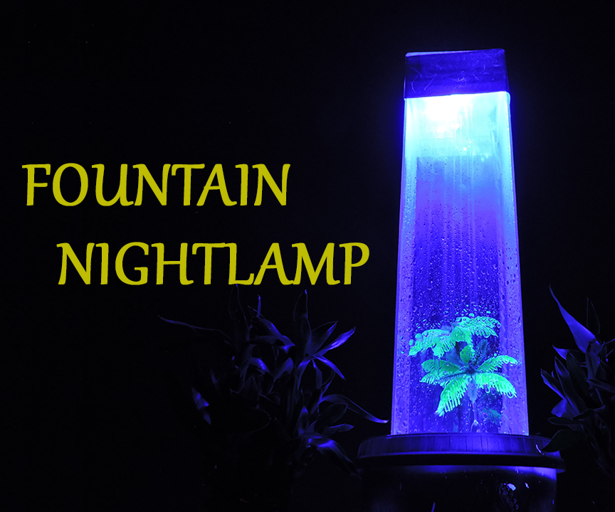 DIY Fountain With Acrylic Sheet