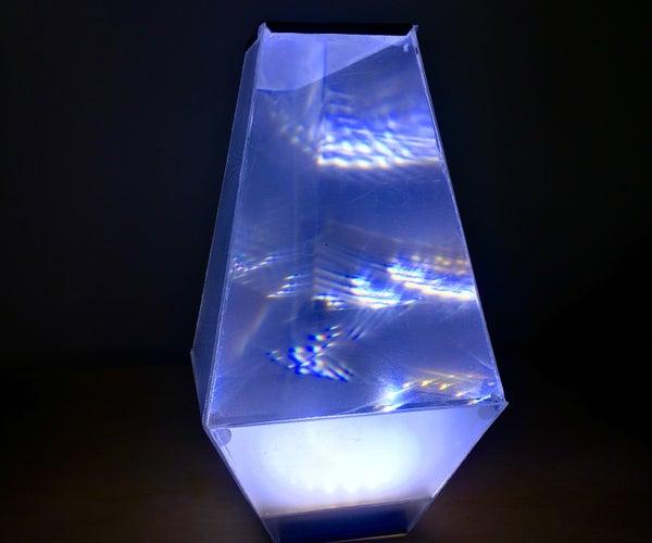 Recycled Broken Monitor Lamp