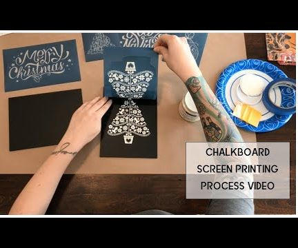 Chalkboard Screen Printing