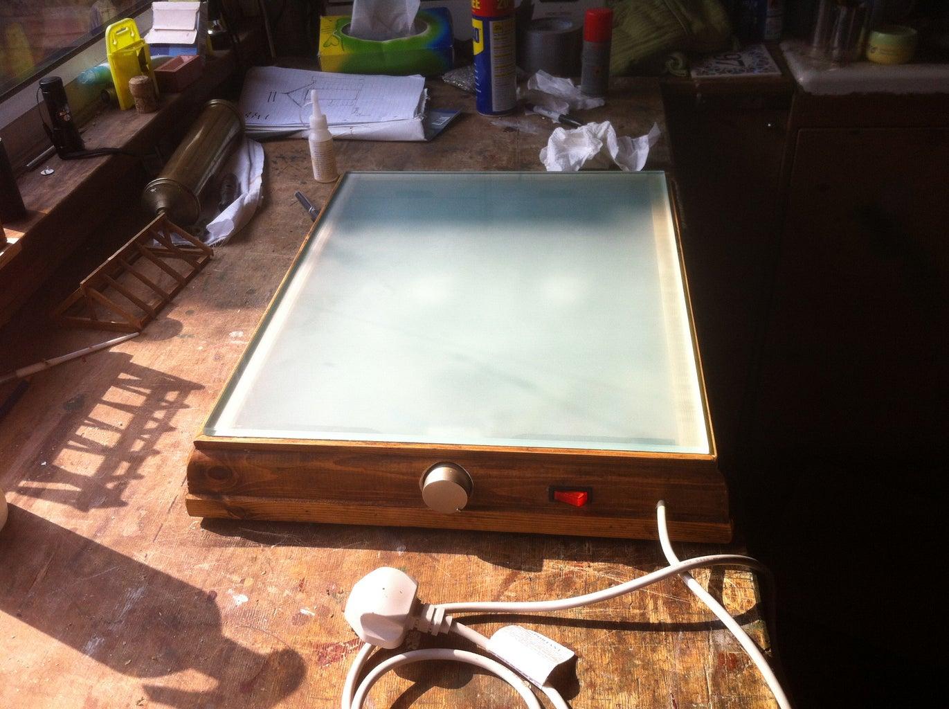 Heated Drawing Board