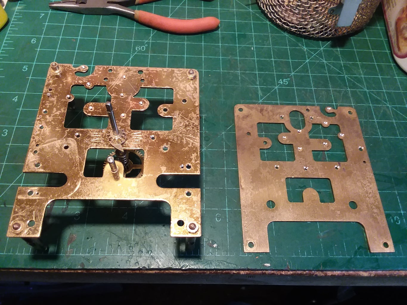 Lacquer Removed, Polished Plates and Reassembled and Oiled