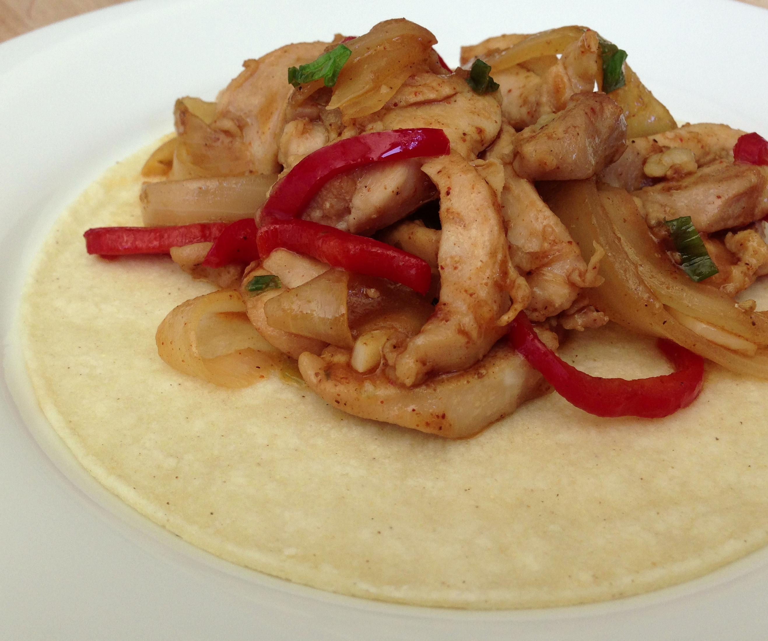 Chicken Fajitas Recipe