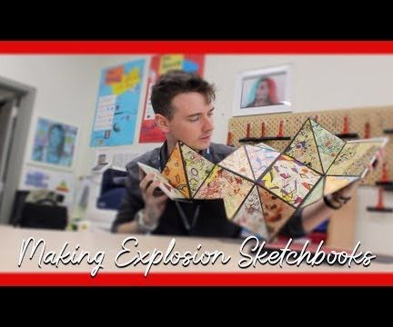 Explosion Sketchbooks