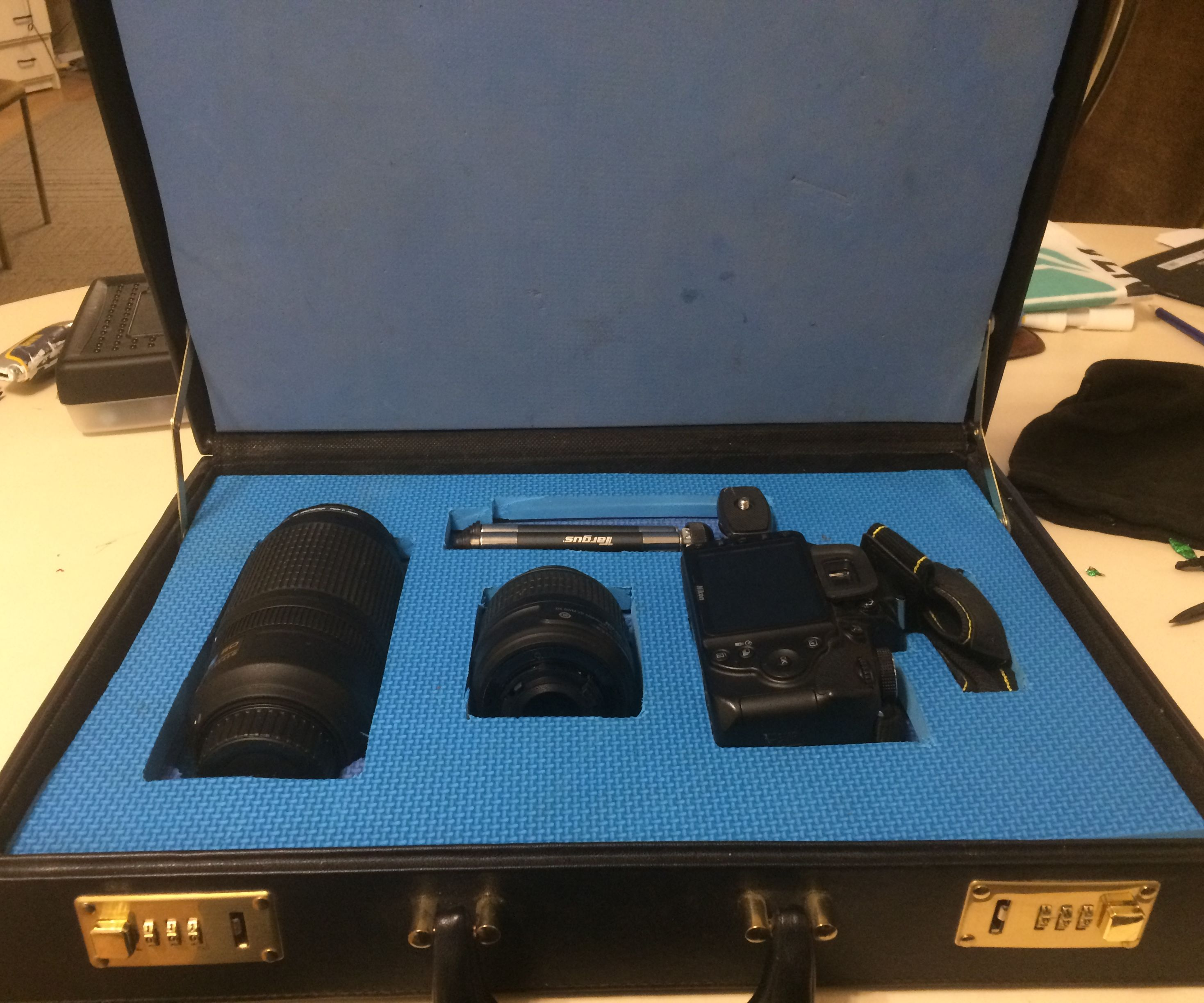 Camera Storage on a Budget With Hidden Component