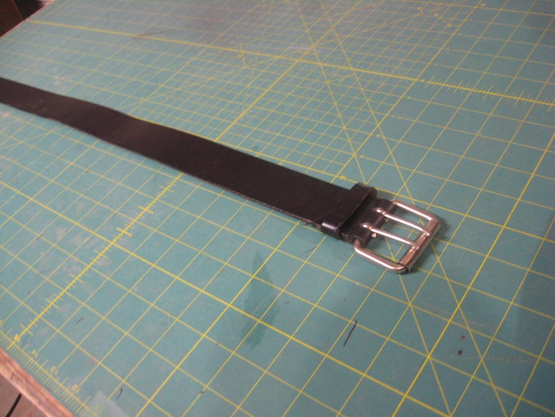 Make Handles Using Old Belt