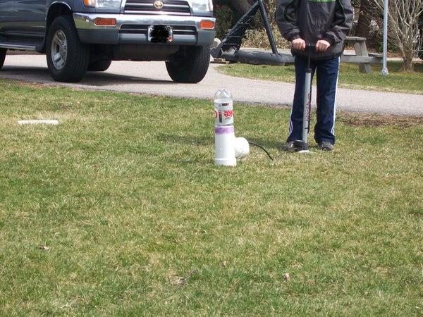 Pretty Easy Bottle Rocket