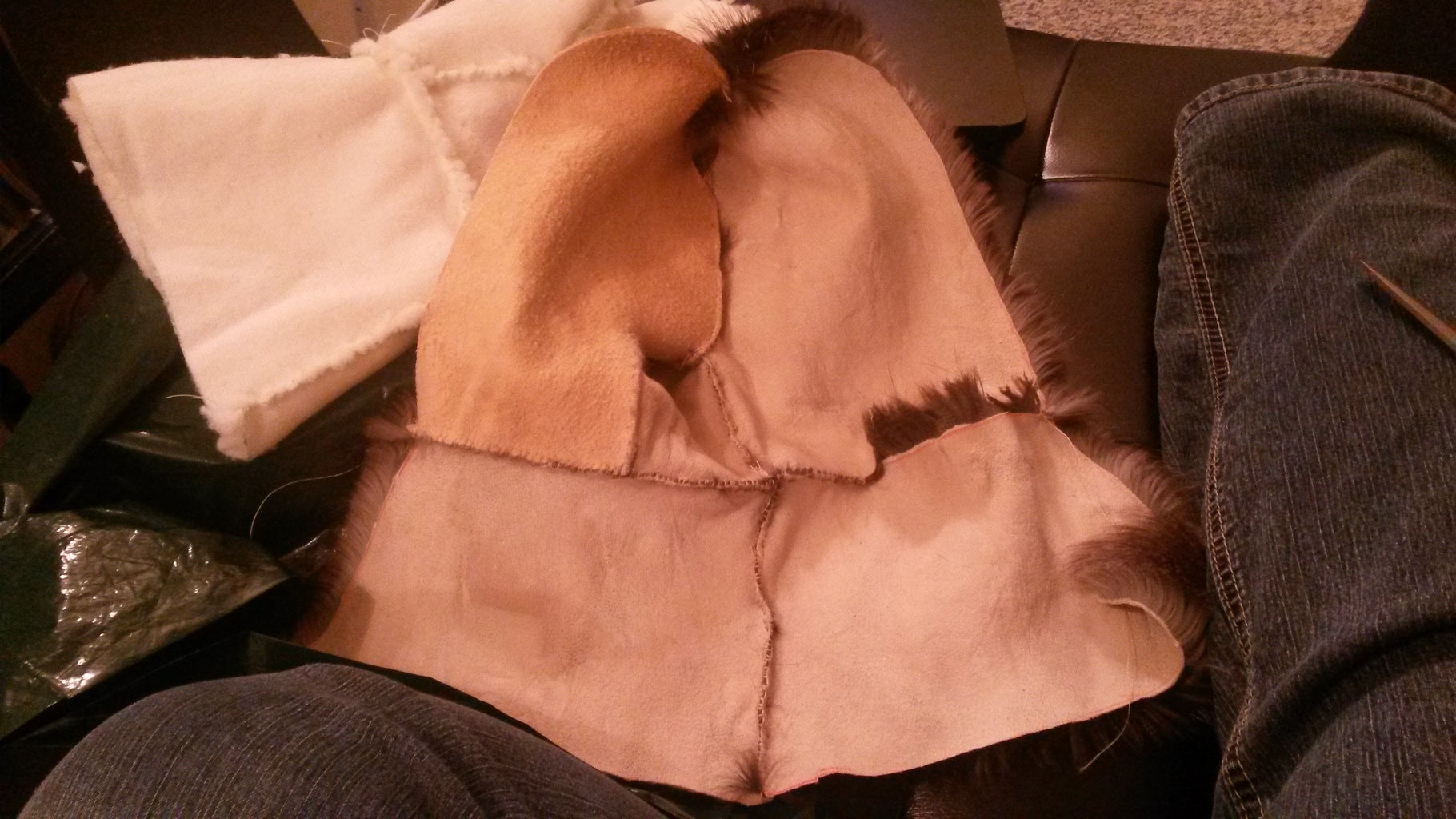 Sewing the Mitt
