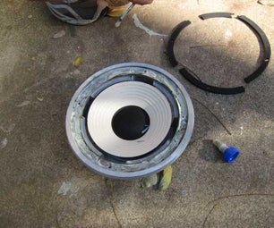 Replace Dry Rotted Speaker Surrounds With Cloth Replacements.