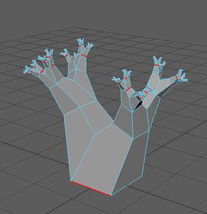 Branching Fractal Shapes