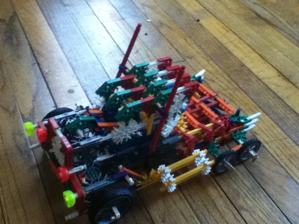 Knex Optimus Prime Transformer
