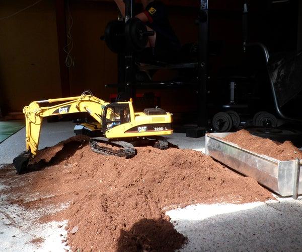 Remote Controlled Excavator