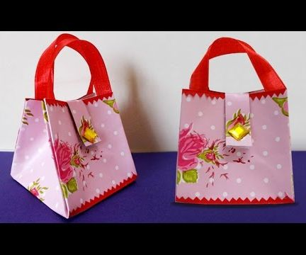 Paper Crafts : How to Make DIY Easy Handmade Paper Bag