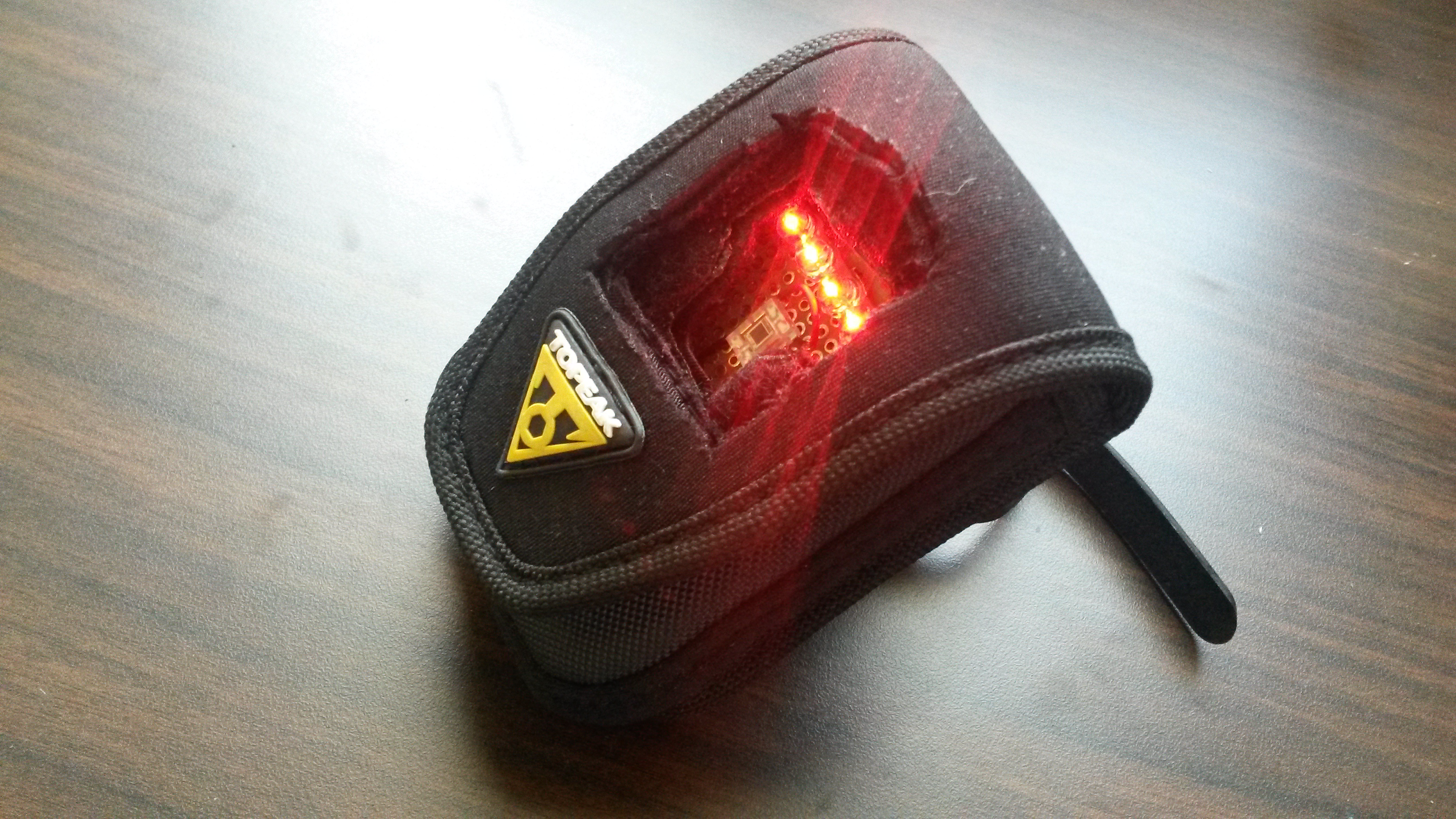 Automatic Shadow Detection Bike Tail Light