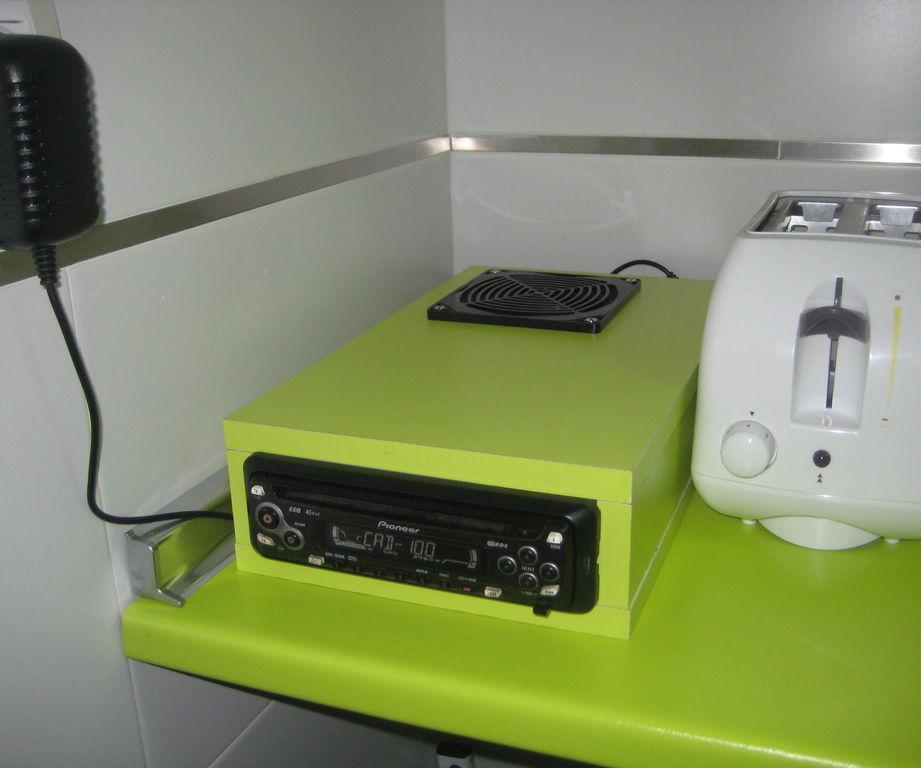Radio-CD de Coche a la cocina