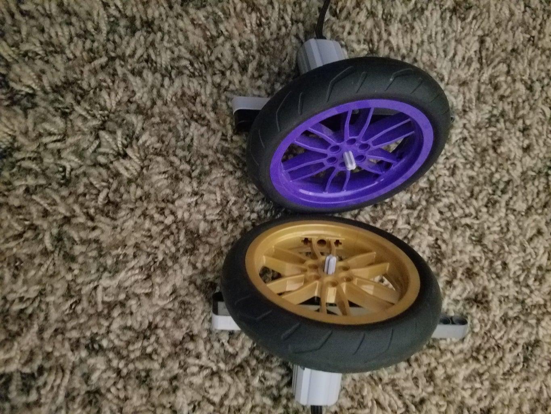 Motors and Wheels