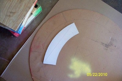 Make Circle Template From Cardboard
