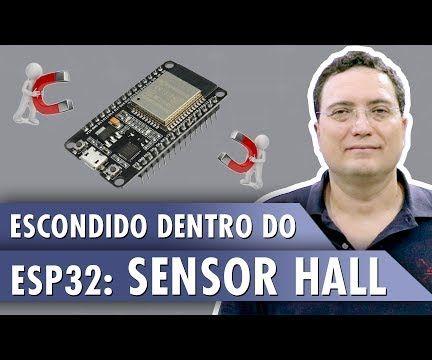 Hidden Hall Sensor in ESP32