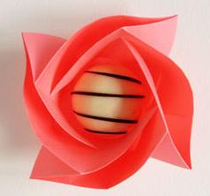 How to make mothers day origami rose chocolate boxes!