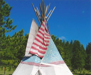 Make Your Own  Teepee