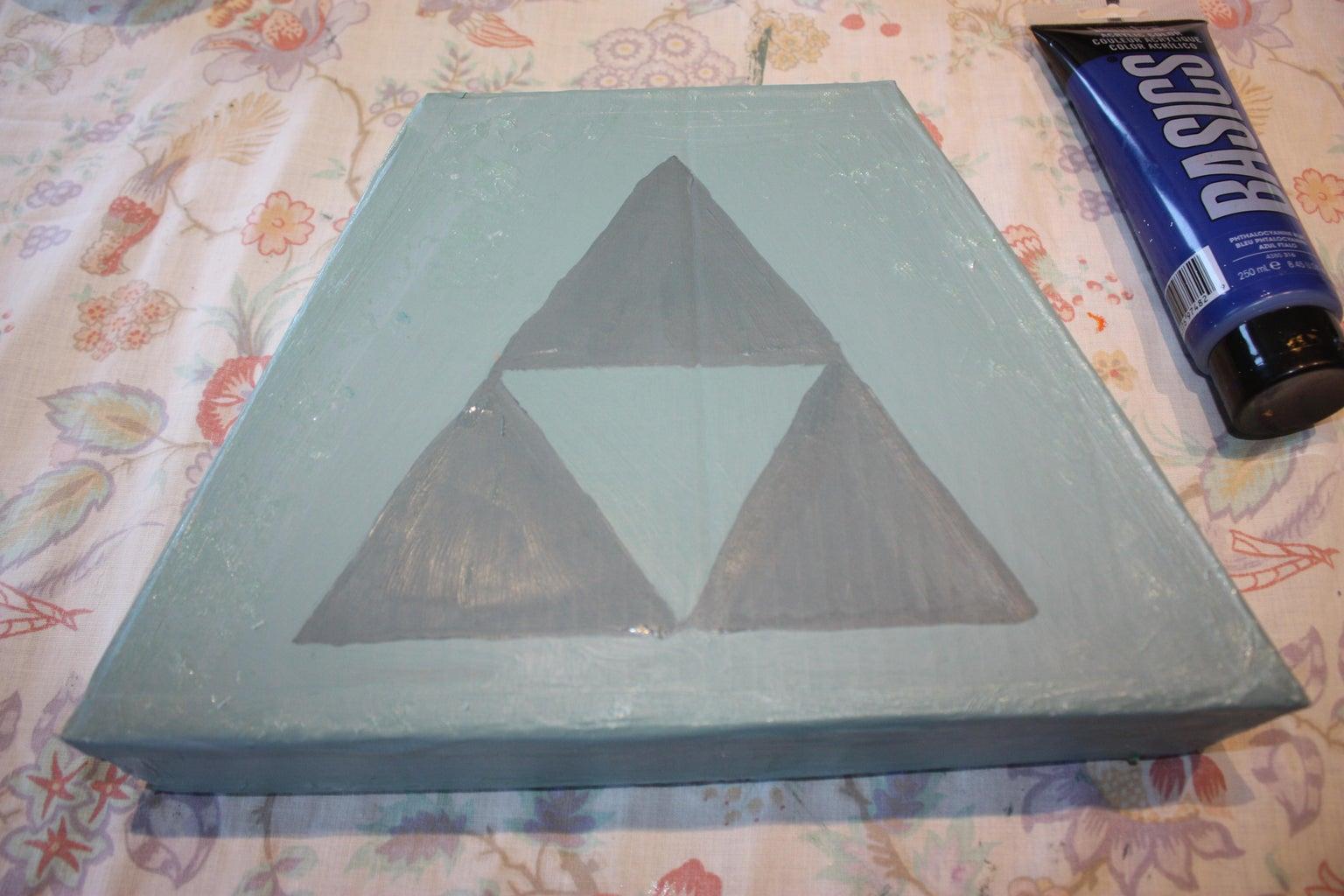 Stone Base: Building/ Painting