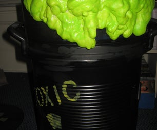 """How to Build a """"Toxic Waste Drum"""" Drink Dispenser"""