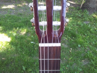 Lost The Nut On Your Guitar No Problem Here S How You Make Another 8 Steps With Pictures Instructables