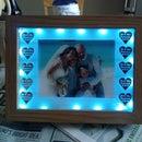Illuminated Photo Wedding Gift